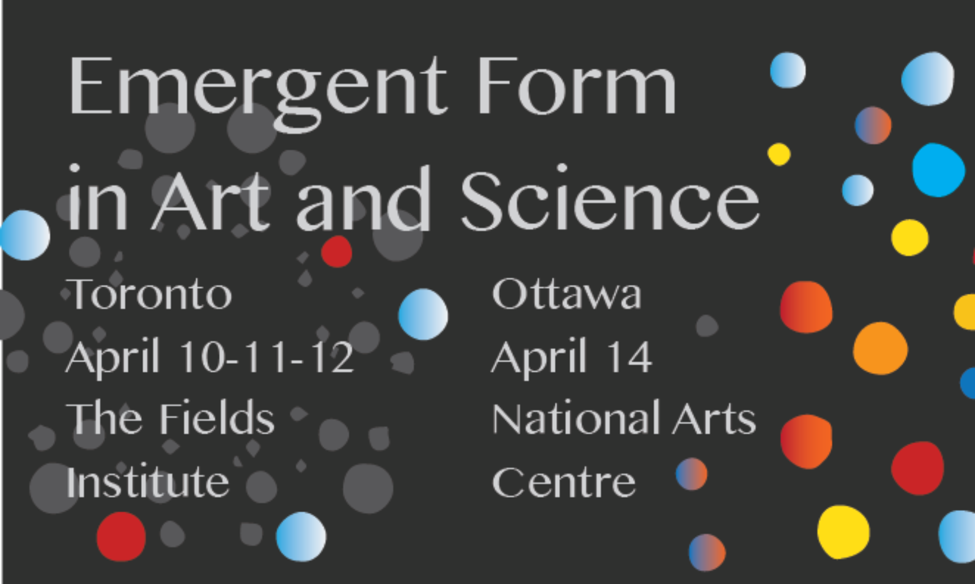 Emergent Form in Art and Science
