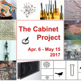 invitation to the Cabinet Project's opening, April 6