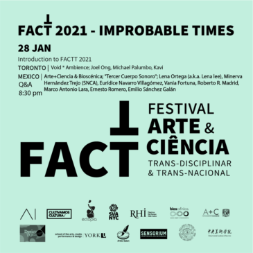 Opening of FACTT 20/21 Improbable Times Jan 28
